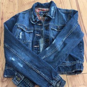 Jean jacket:) only worn a few times!!
